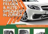 Reifen, Felgen und Autospezialist in Zürich